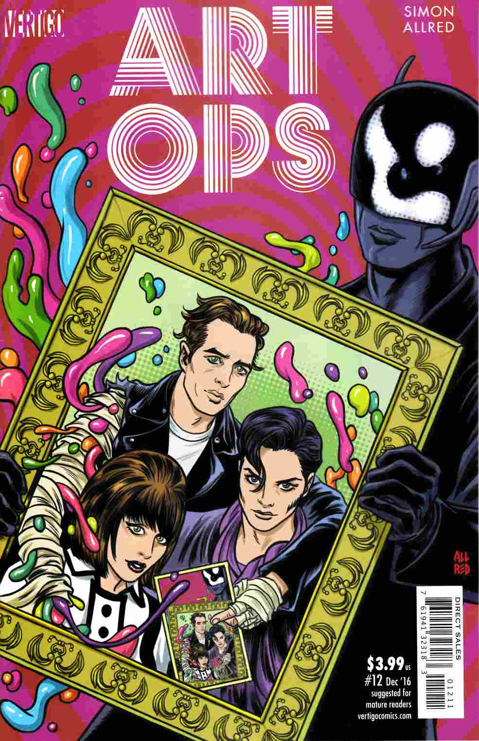 Art Ops #12 [DC Comic] LARGE