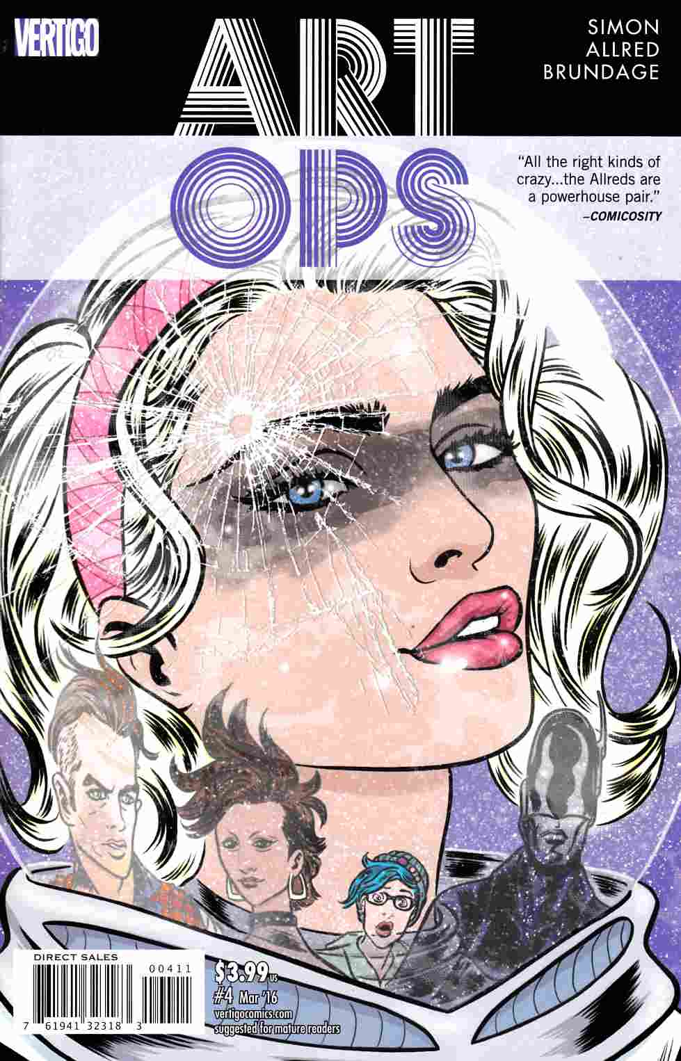 Art Ops #4 [DC Comic] LARGE