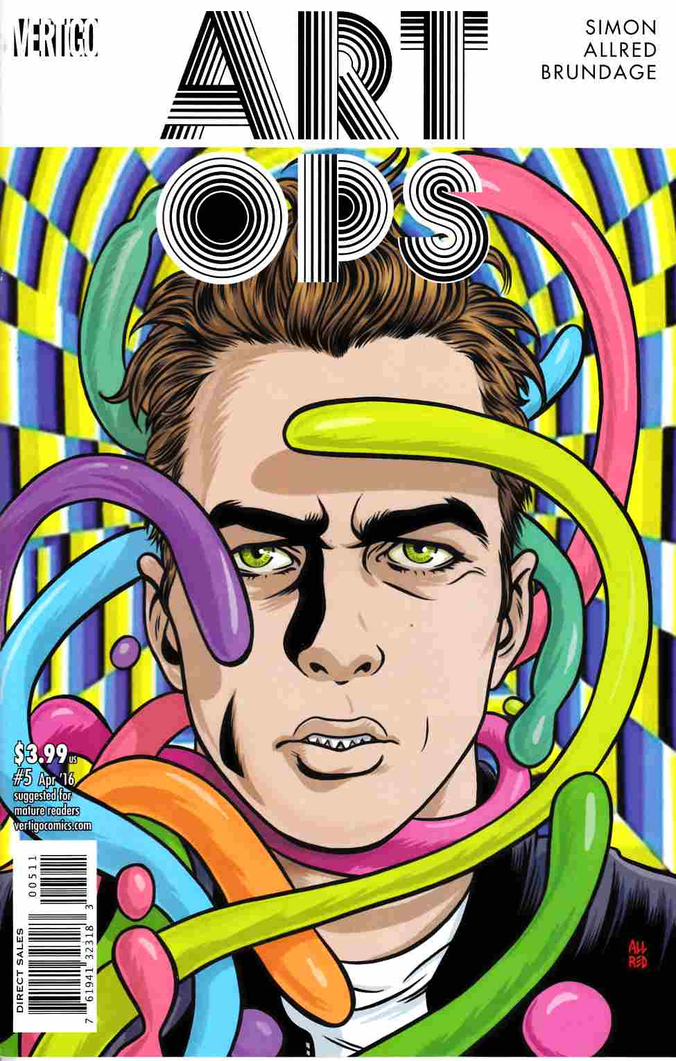 Art Ops #5 [DC Comic] LARGE