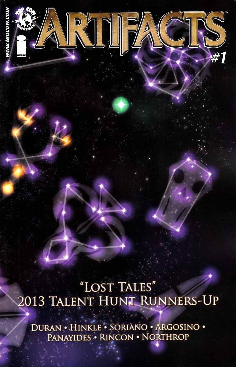 Artifacts Lost Tales #1 [Image Comic] THUMBNAIL