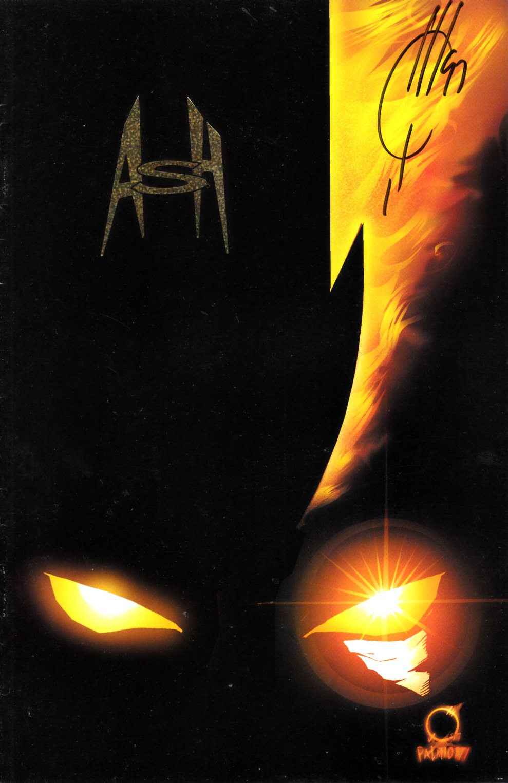 Ash Cinder and Smoke #1 Gold Edition Signed by Quesada Very Fine Plus (8.5) [Event Comic] THUMBNAIL