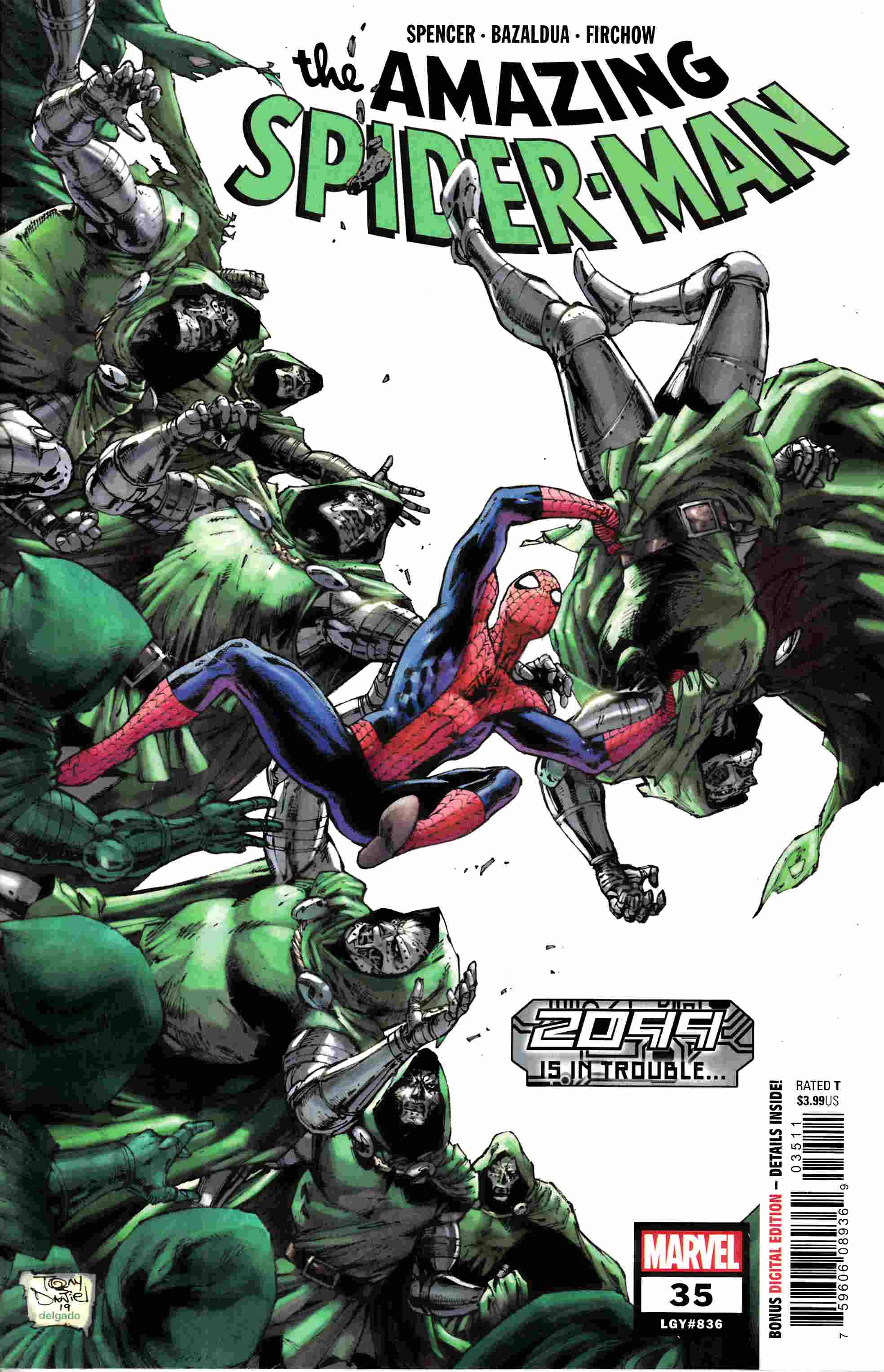 Amazing Spider-Man #35 Very Fine (8.0) [Marvel Comic] THUMBNAIL