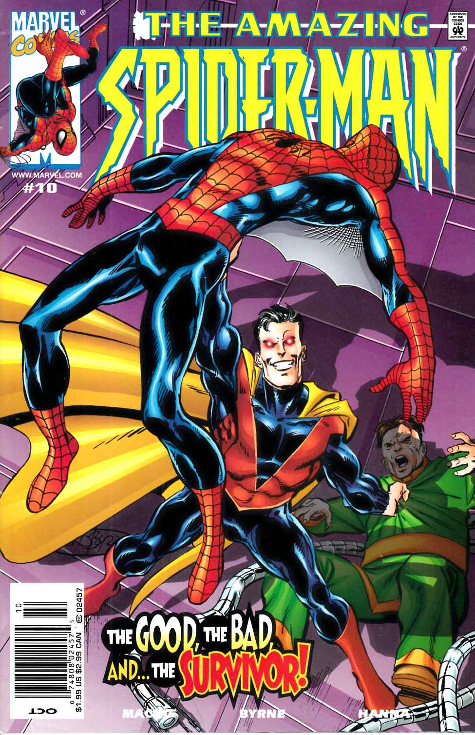 Amazing Spider-Man #10 Newsstand Edition Very Fine (8.0) [Marvel Comic] THUMBNAIL