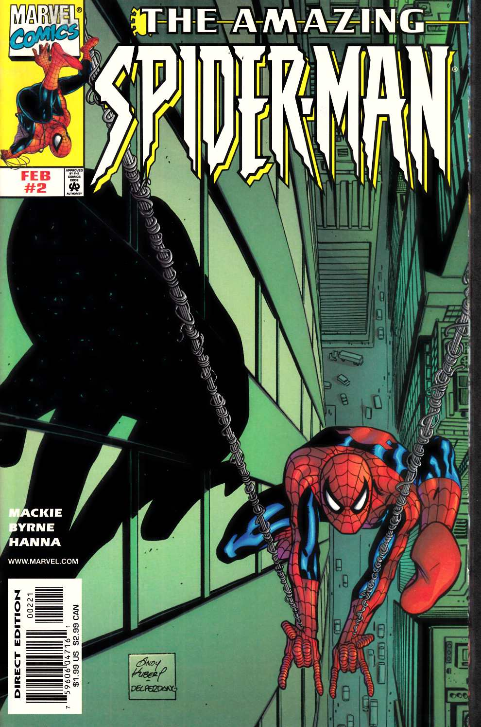 Amazing Spider-Man #2 Cover B Near Mint (9.4) [Comic] THUMBNAIL