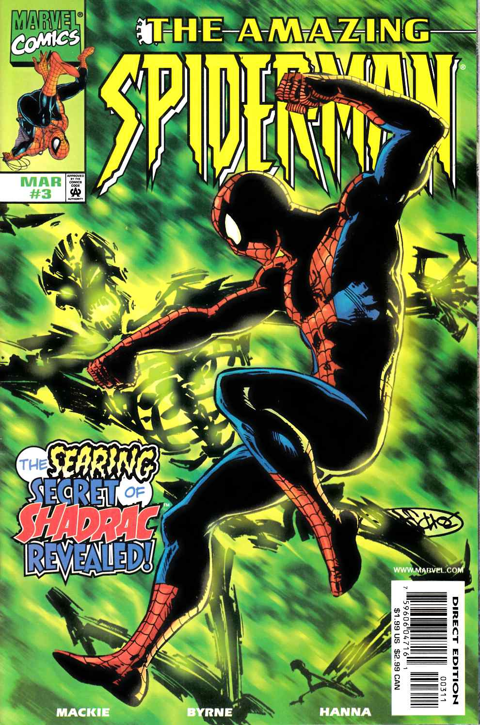 Amazing Spider-Man #3 Near Mint (9.4) [Marvel Comic] LARGE