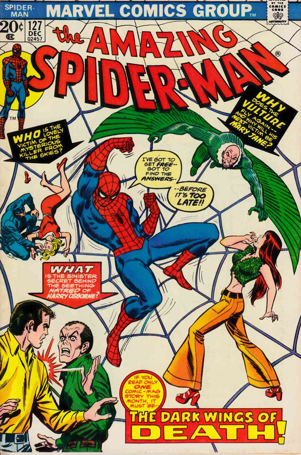 Amazing Spider-Man #127 Fine/Very Fine (7.0) [Marvel Comic] LARGE