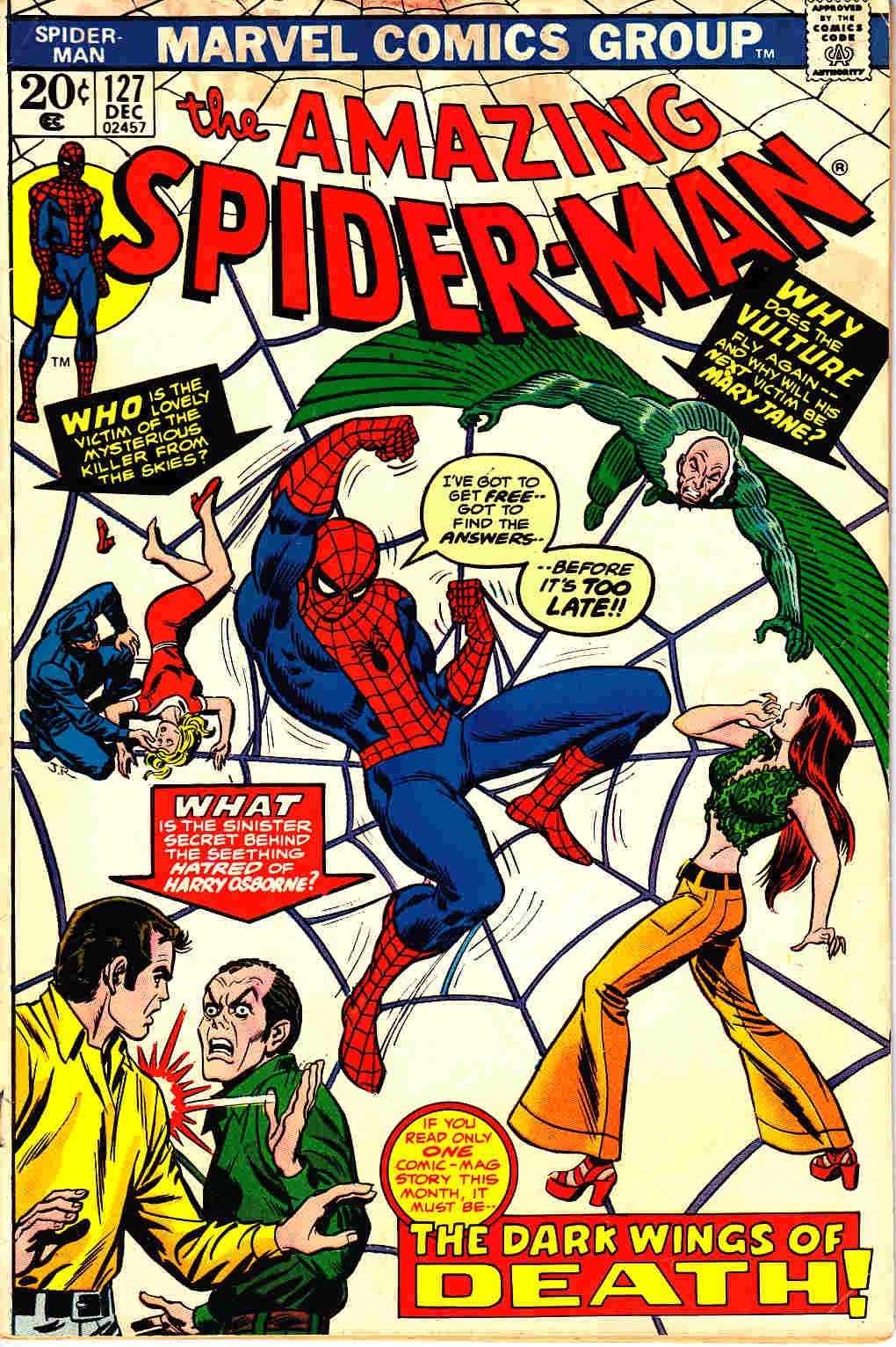 a830f156cb5 Amazing Spider-Man  127  Marvel Comic  – Dreamlandcomics.com Online ...