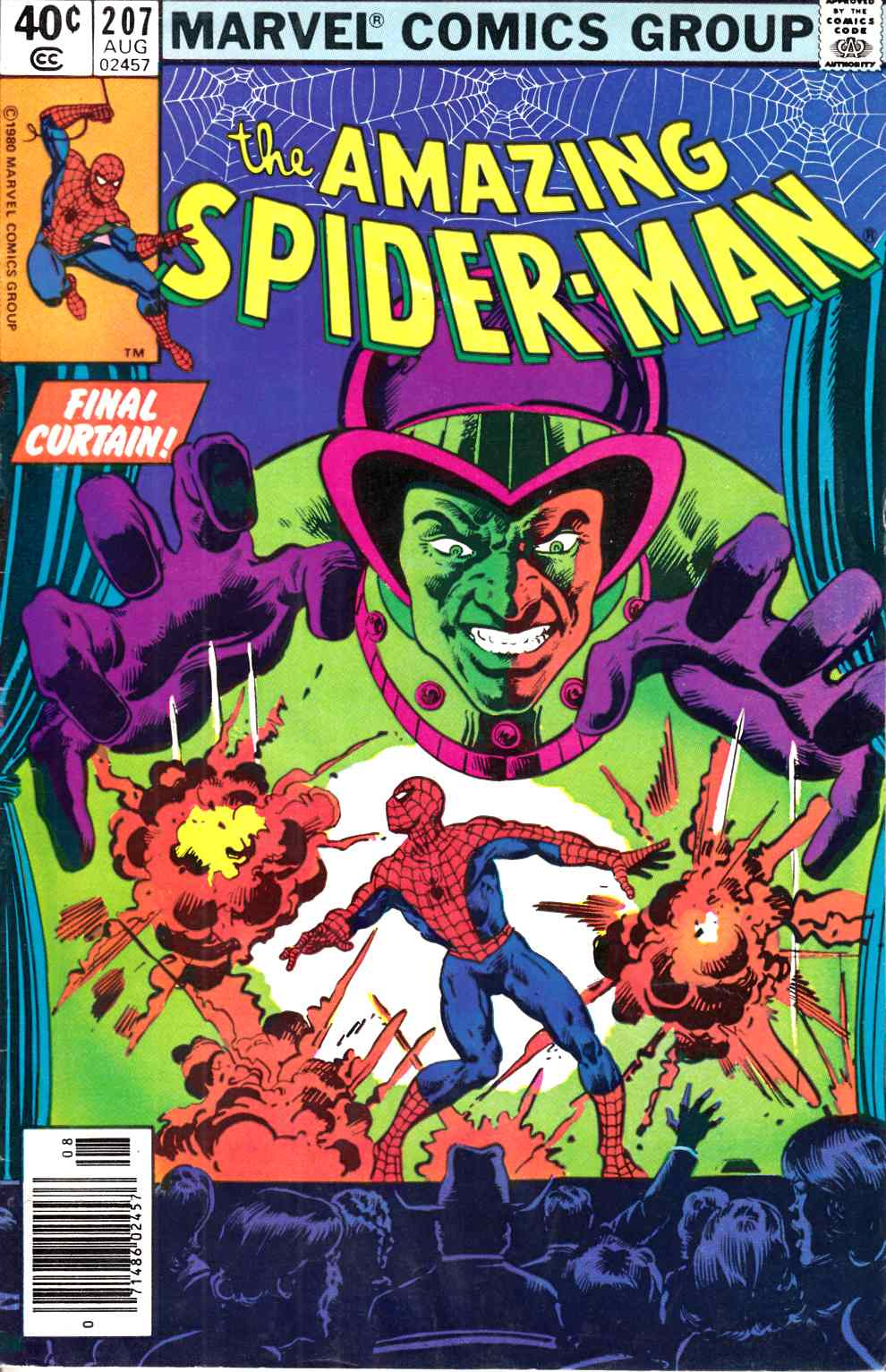 Amazing Spider-Man #207 Newsstand Edition Very Good Minus (3.5) [Marvel Comic] THUMBNAIL
