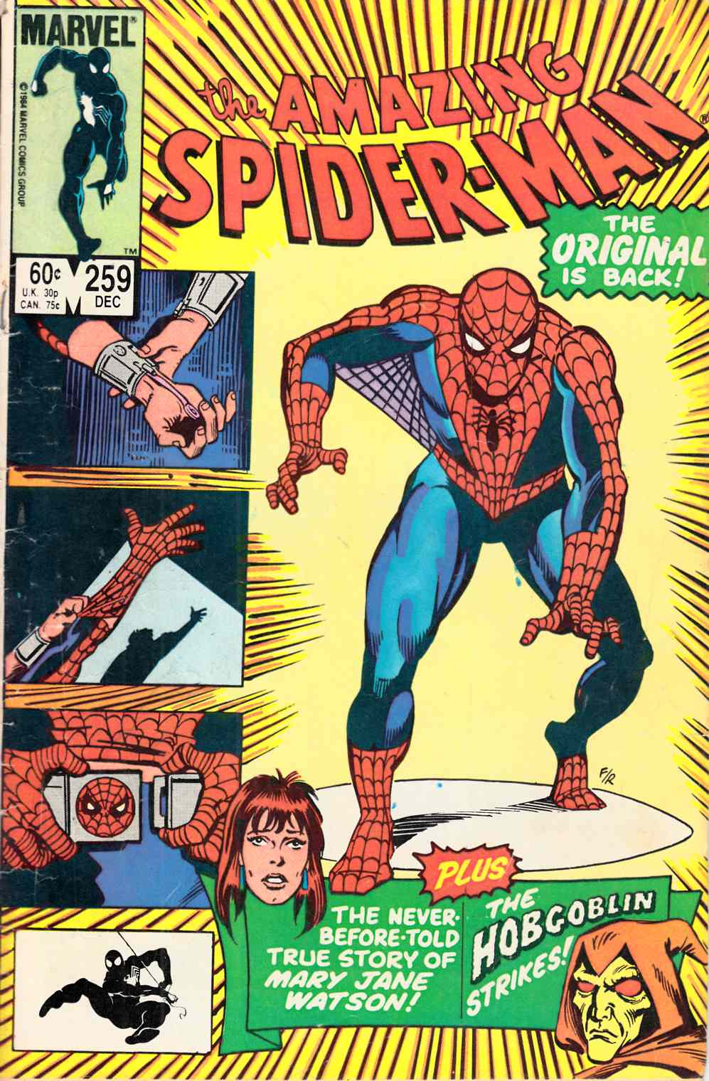 Amazing Spider-Man #259  Good (2.0) [Marvel Comic] THUMBNAIL