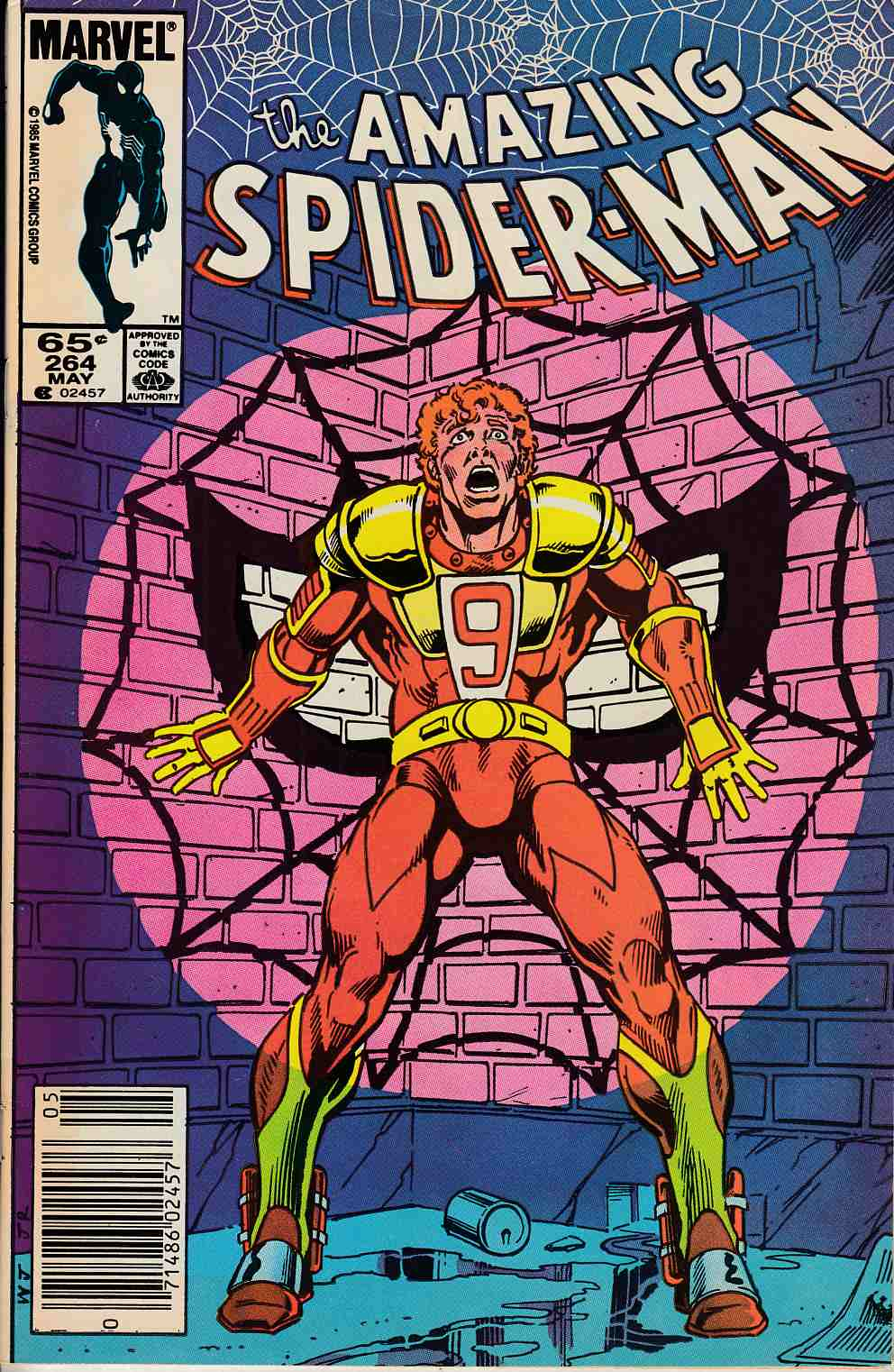 Amazing Spider-Man #264 Newsstand Edition Fine/Very Fine (7.0) [Marvel Comic] LARGE