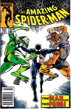 Amazing Spider-Man #266 Newsstand [Marvel Comic] LARGE
