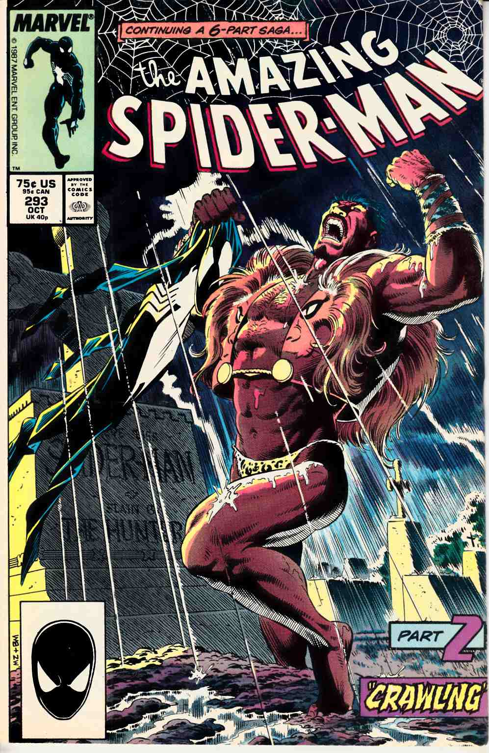 Amazing Spider-Man #293 Good/Very Good (3.0) [Marvel Comic] THUMBNAIL
