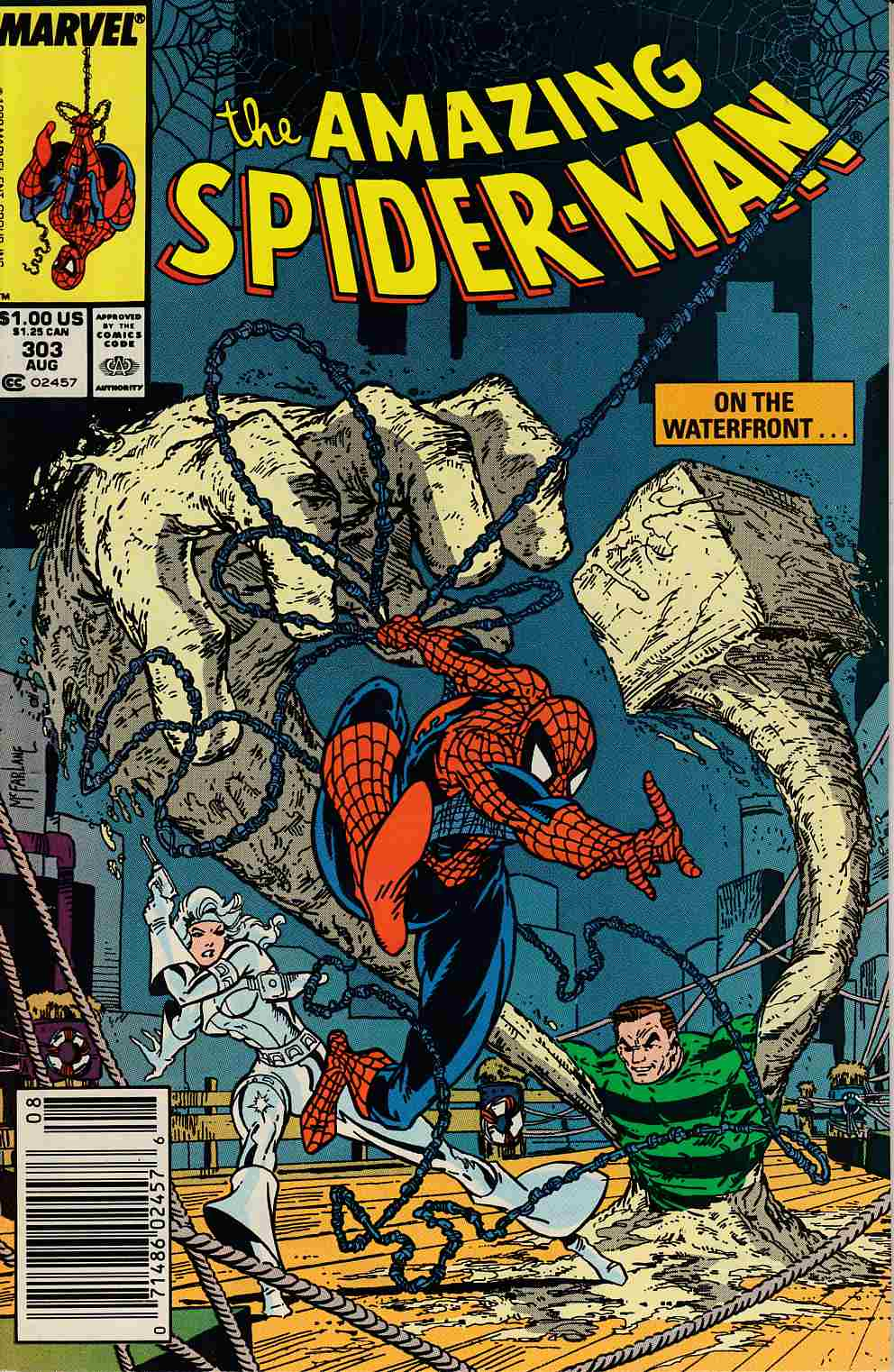 Amazing Spider-Man #303 Newsstand Edition Near Mint Minus (9.2) [Marvel Comic] LARGE