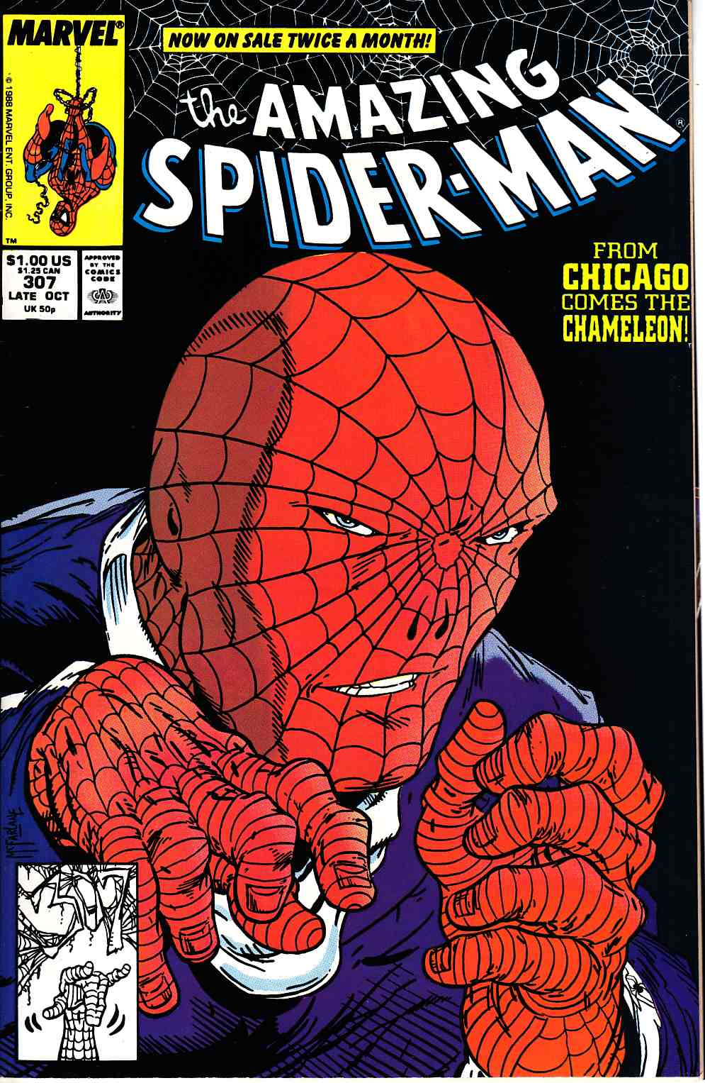Amazing Spider-Man #307 Very Fine (8.0) [Marvel Comic] LARGE