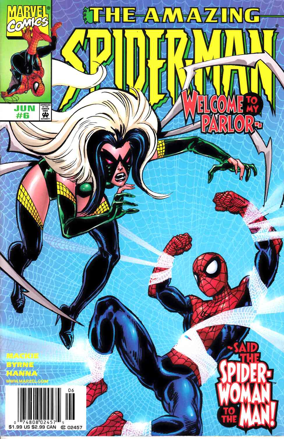 Amazing Spider-Man #6 Newsstand Edition Near Mint Minus (9.2) [Marvel Comic] LARGE