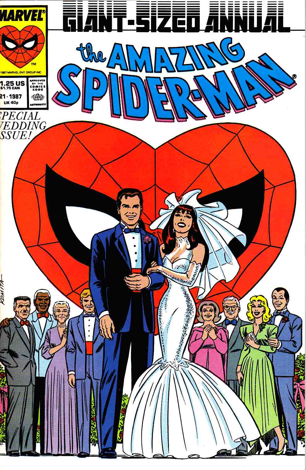 Amazing Spider-Man Annual #21 Cover A Near Mint Minus (9.2) [Marvel Comic] THUMBNAIL