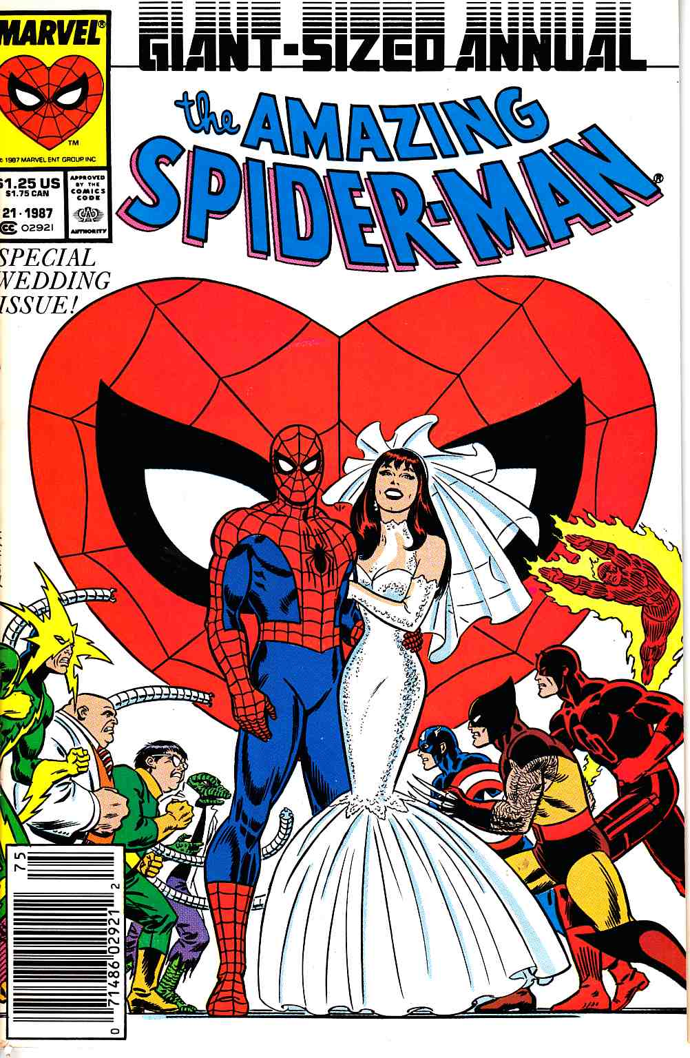 Amazing Spider-Man Annual #21 Newsstand Edition Very Fine (8.0) [Marvel Comic] THUMBNAIL