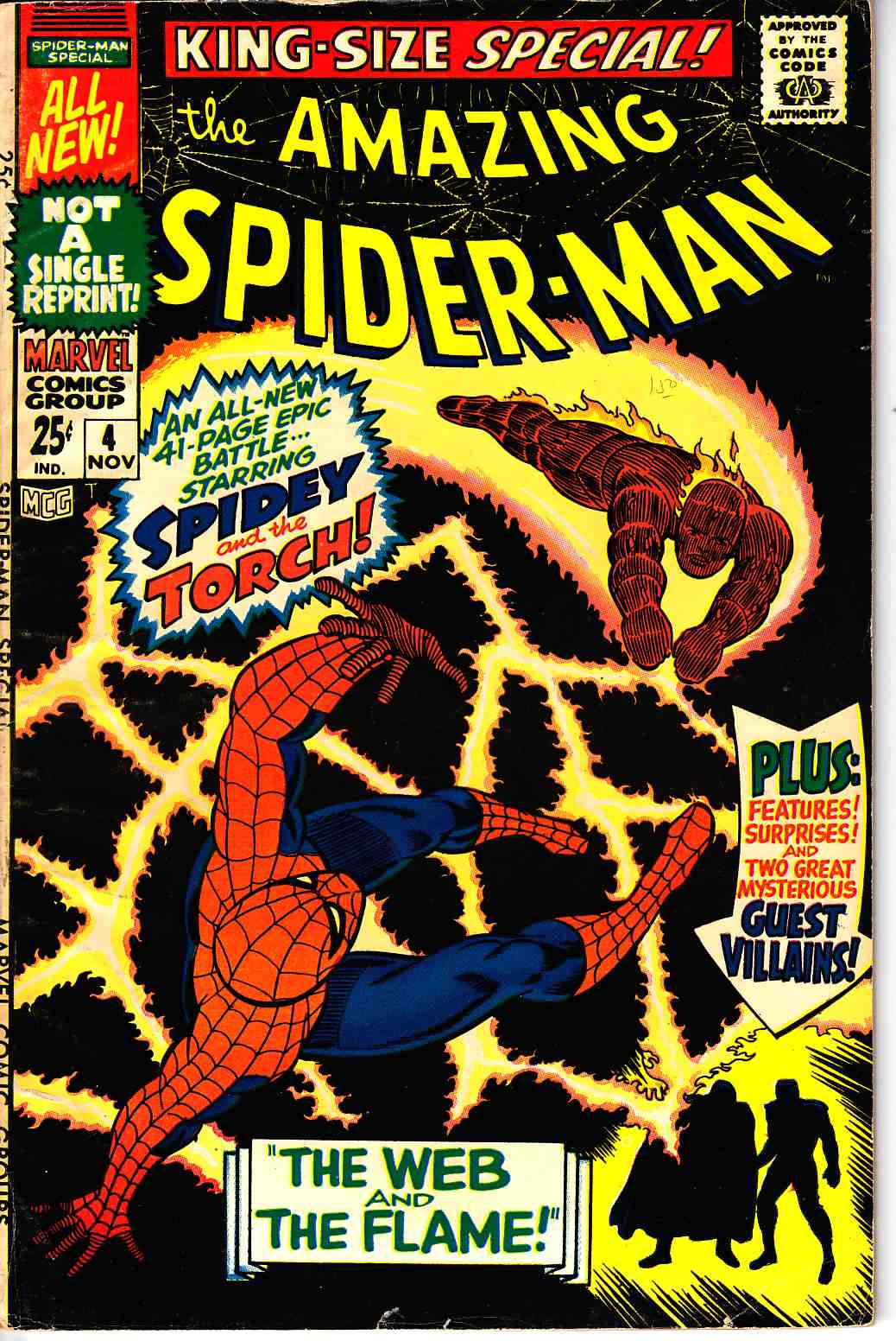 Amazing Spider-Man Annual #4 [Marvel Comic] THUMBNAIL