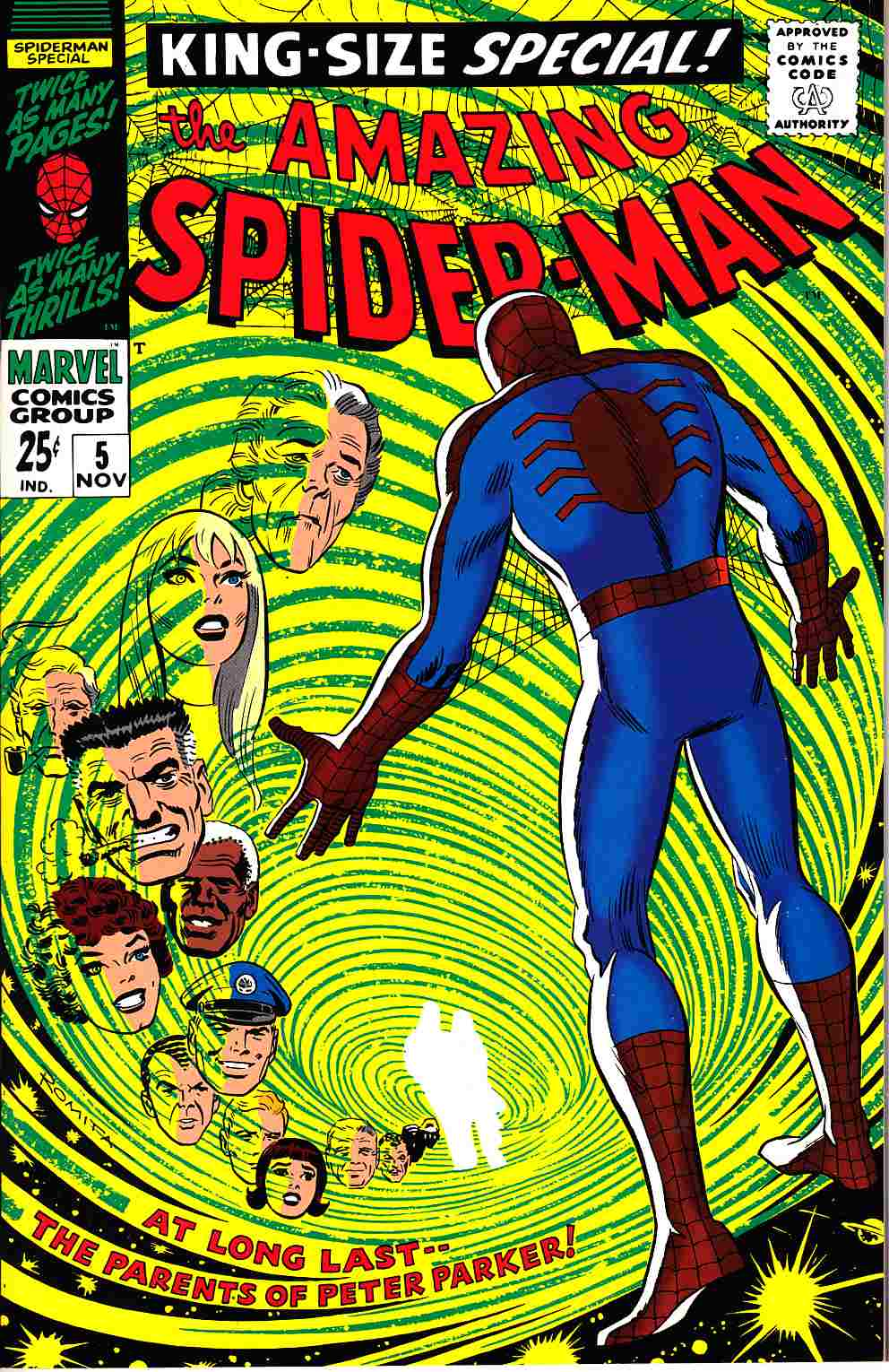 Amazing Spider-Man Annual #5 Reprint [Marvel Comic] THUMBNAIL