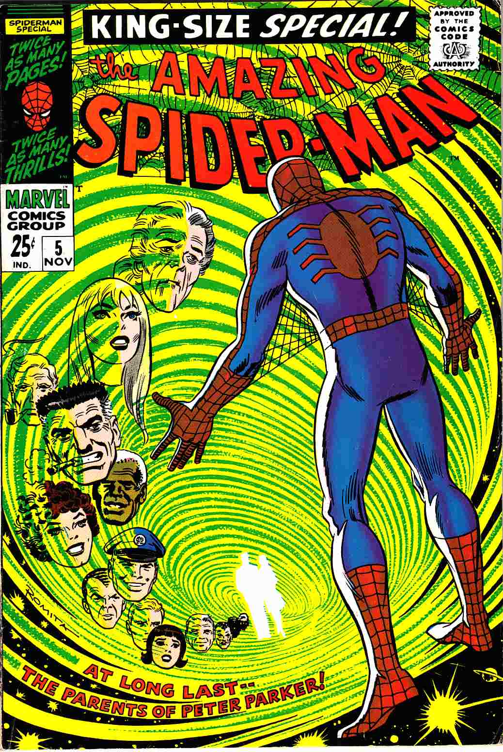 Amazing Spider-Man Annual #5 [Marvel Comic] THUMBNAIL
