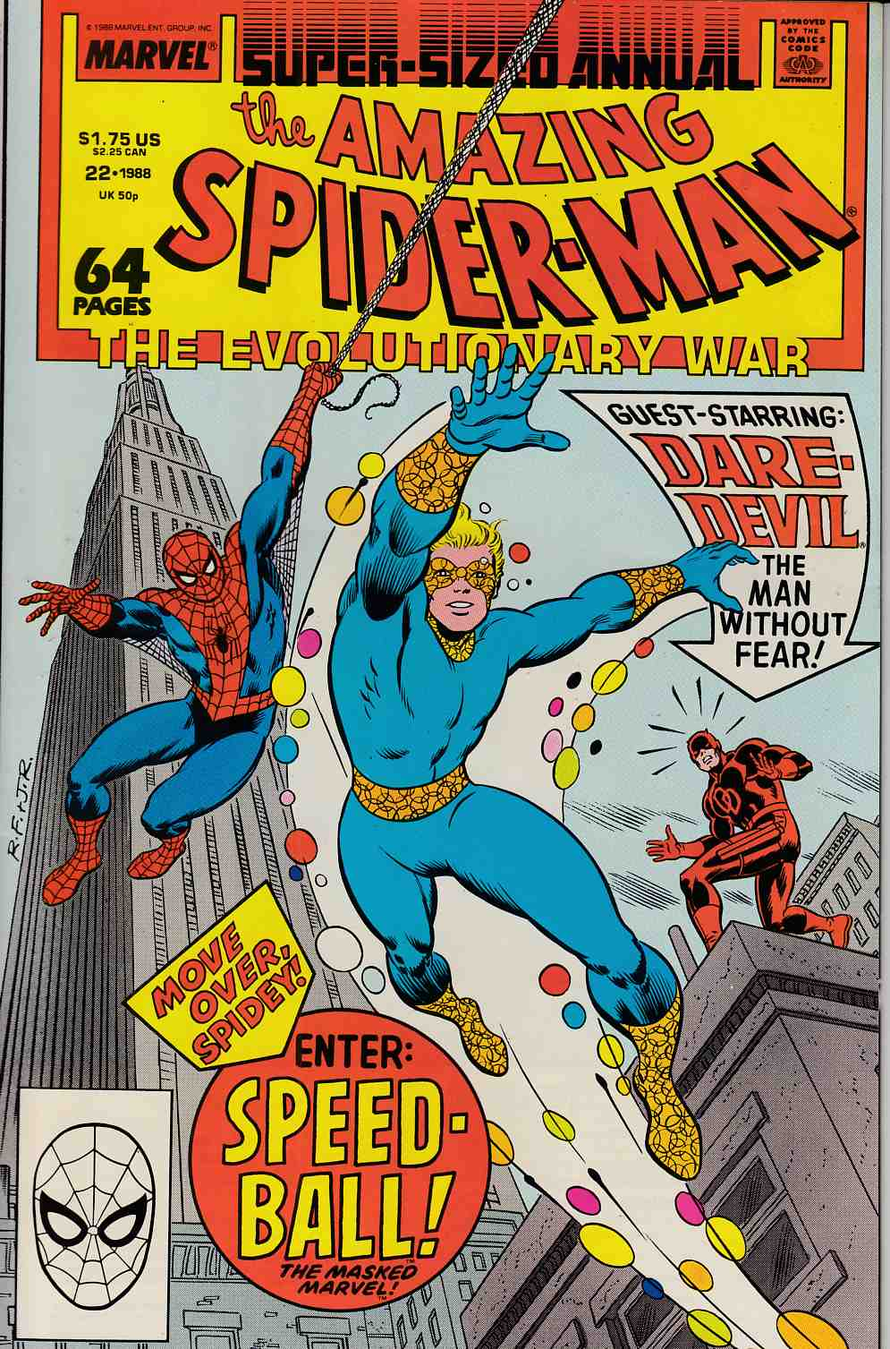 Amazing Spider-Man Annual #22 Fine Minus (5.5) [Marvel Comic] THUMBNAIL