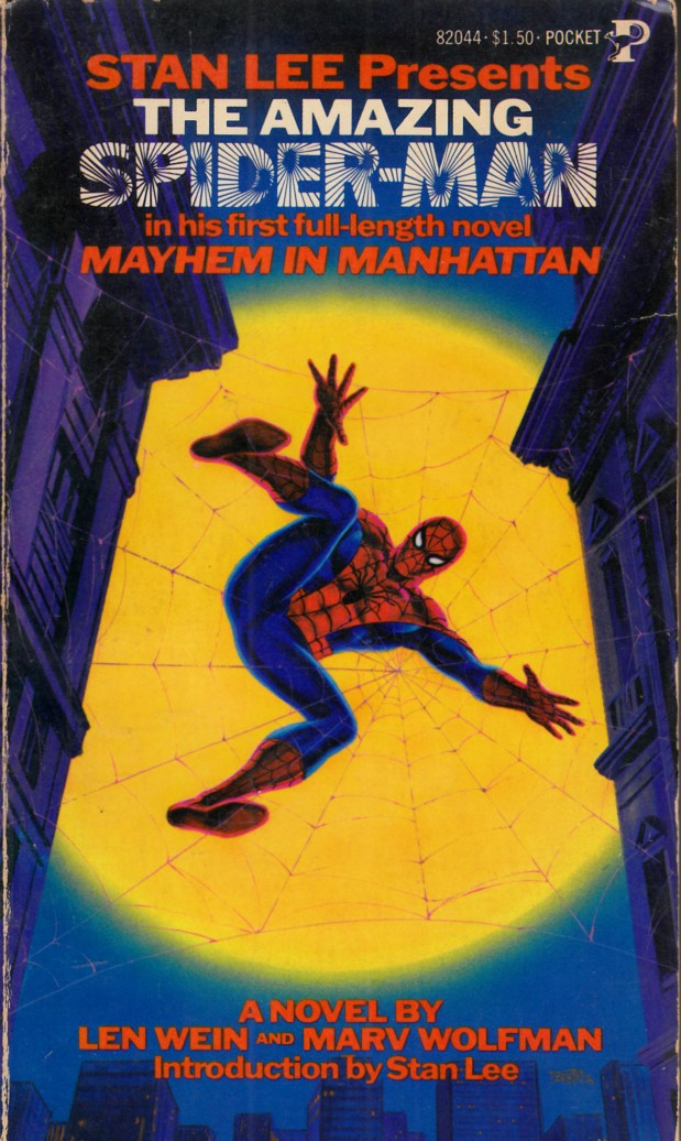 Amazing Spider-Man Mayhem in Manhattan Novel PB Fine (6.0) [Marvel Softcover] THUMBNAIL