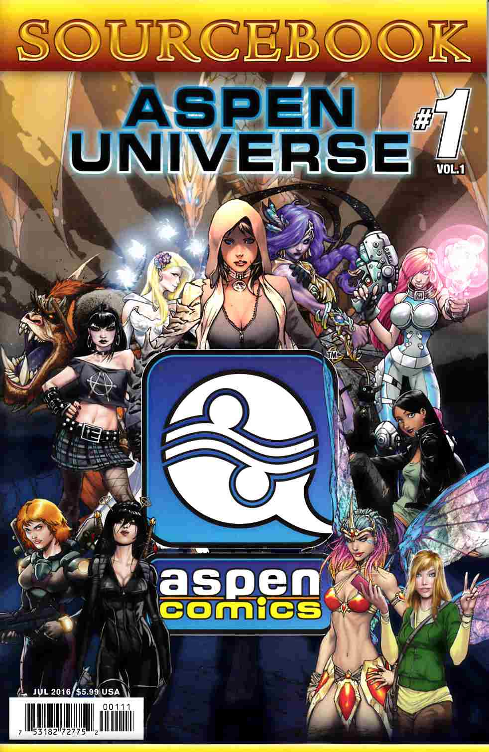 Aspen Universe Sourcebook (One Shot) [Image Comic] THUMBNAIL