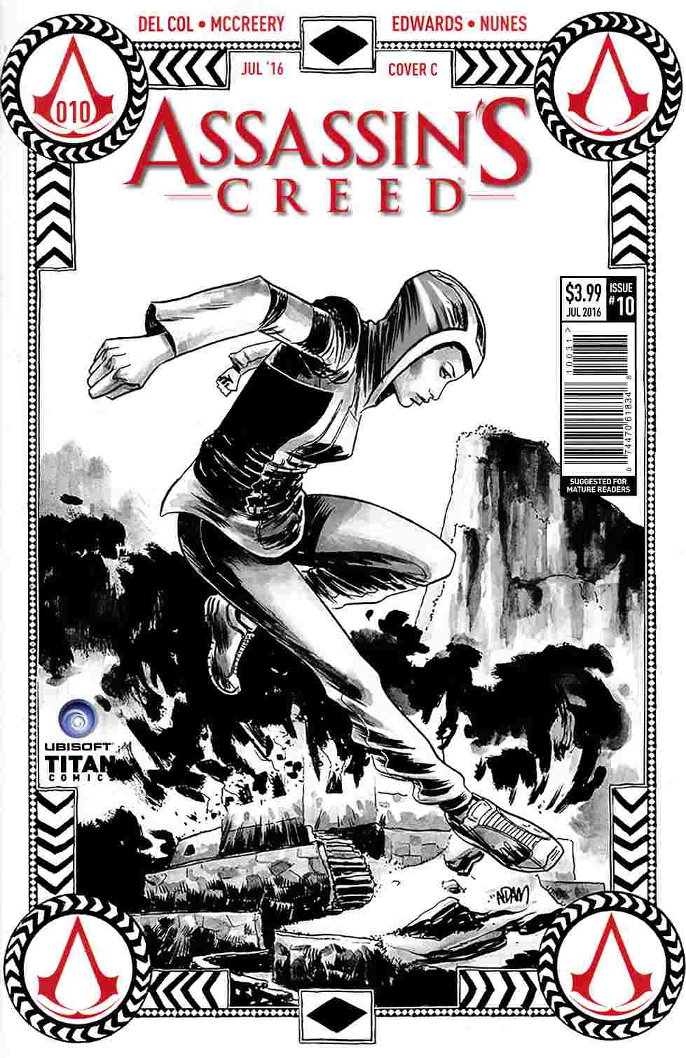Assassins Creed #10 Cover C [Titan Comic]_THUMBNAIL