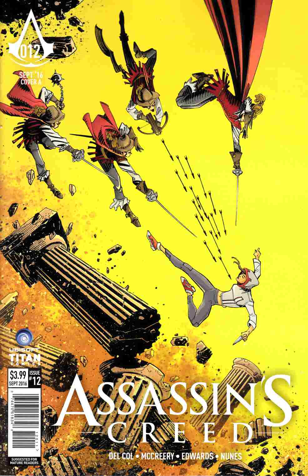 Assassins Creed #12 Cover A [Titan Comic]_THUMBNAIL