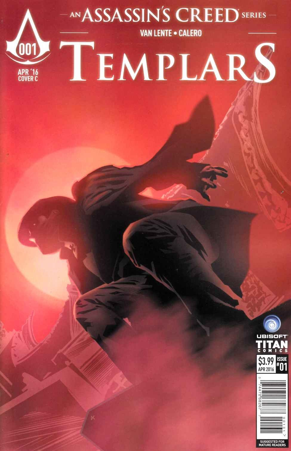 Assassins Creed Templars #1 Cover C- Calero [Titan Comic]