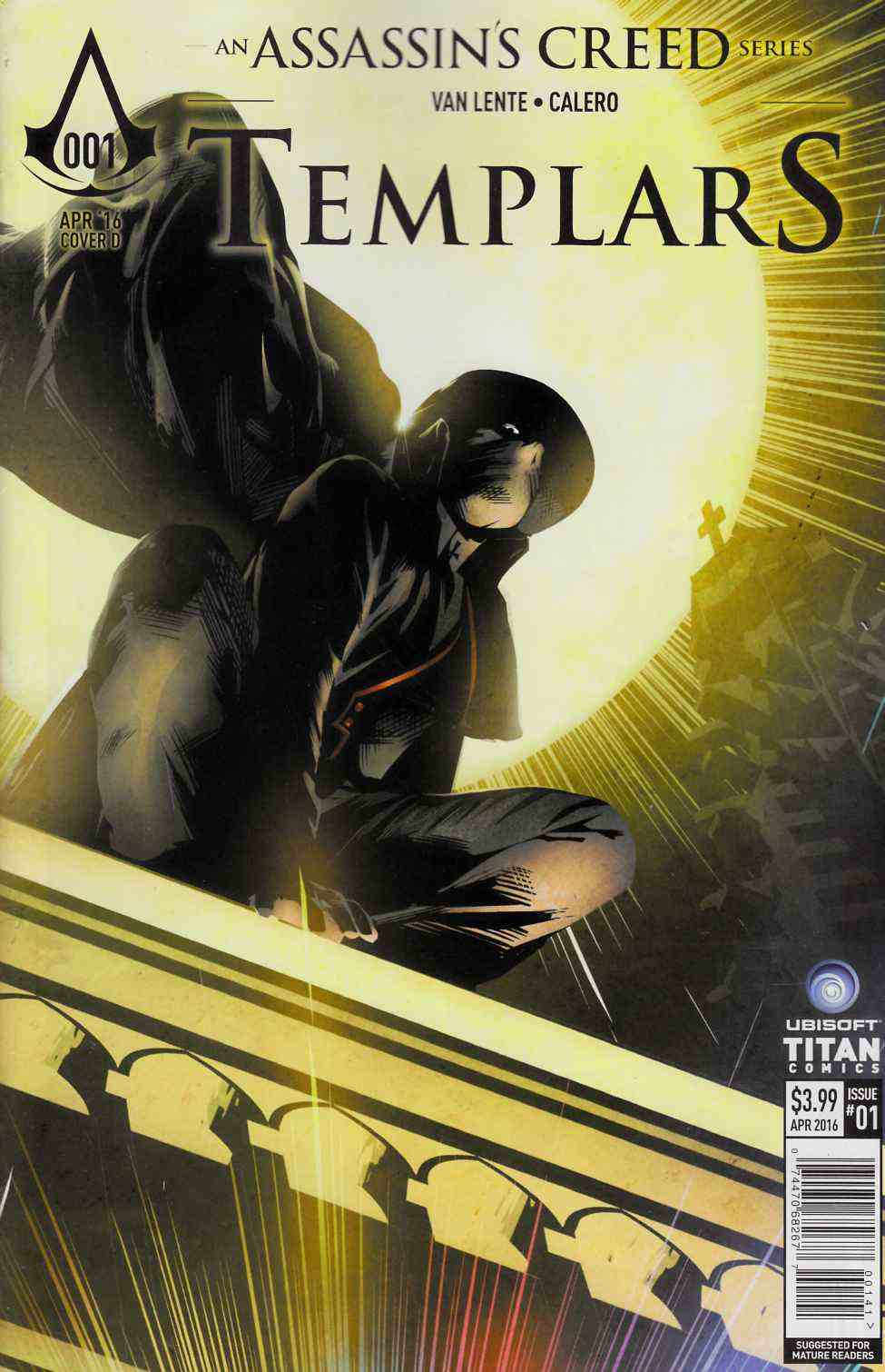 Assassins Creed Templars #1 Cover D- Corroney [Titan Comic] THUMBNAIL
