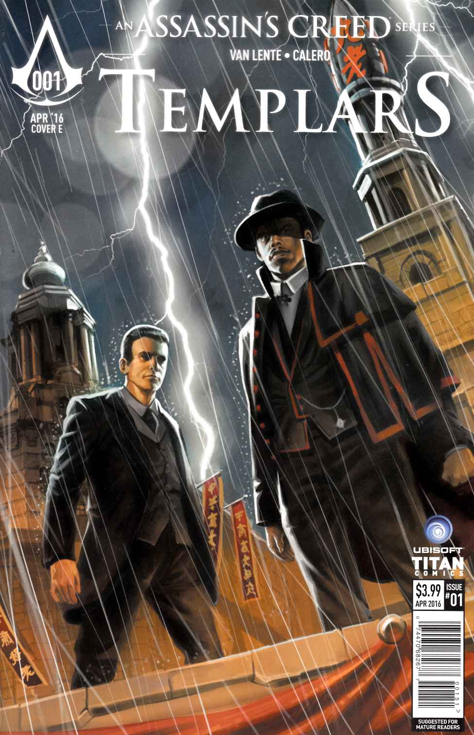 Assassins Creed Templars #1 Cover E- Laclaustra [Titan Comic]