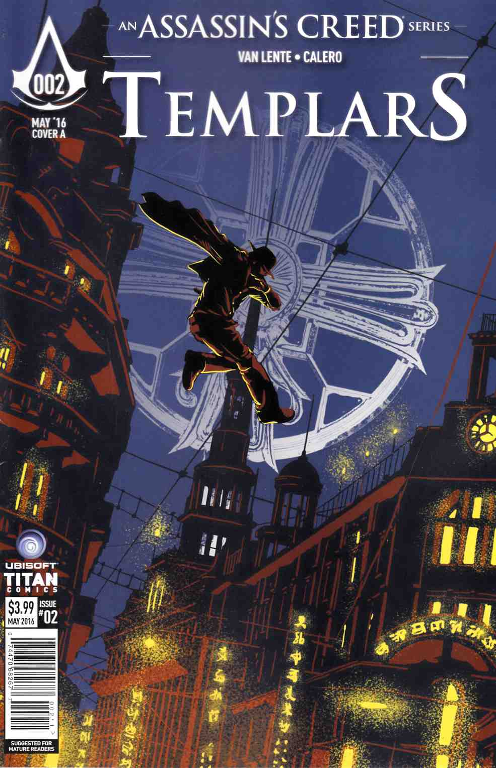 Assassins Creed Templars #2 Cover A [Titan Comic]