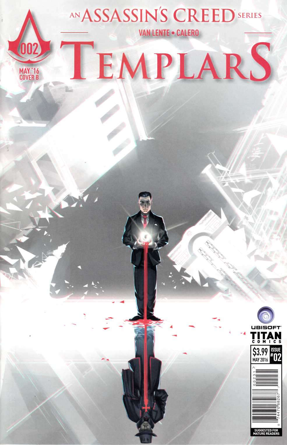 Assassins Creed Templars #2 Cover C [Titan Comic]