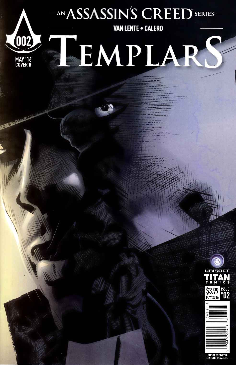 Assassins Creed Templars #2 Cover B [Titan Comic] THUMBNAIL