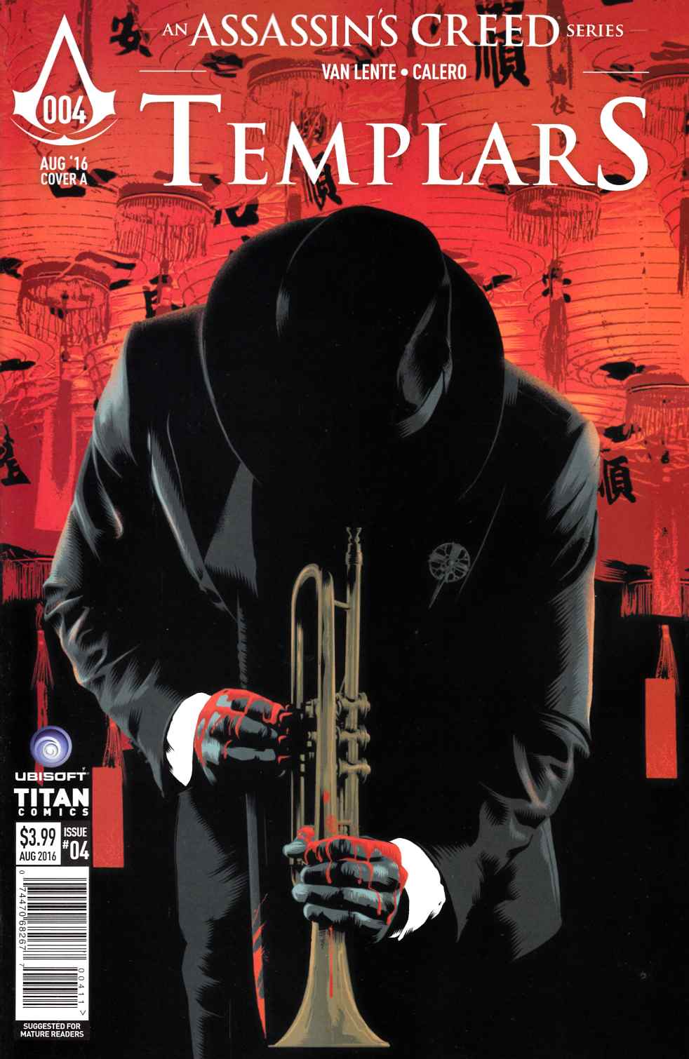 Assassins Creed Templars #4 Cover A [Titan Comic]