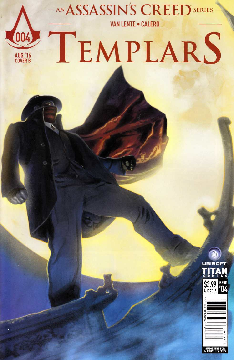 Assassins Creed Templars #4 Cover B [Titan Comic]