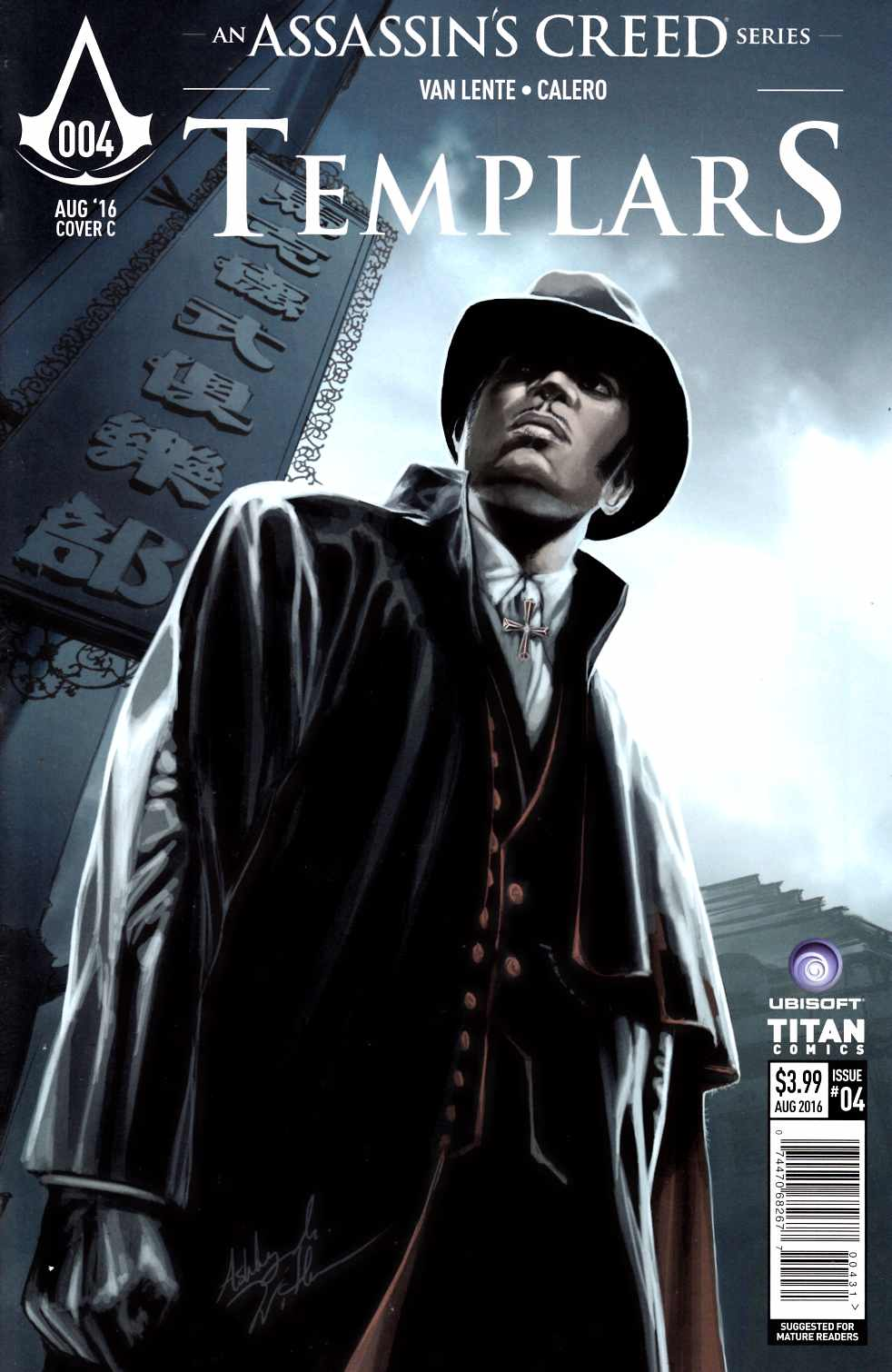 Assassins Creed Templars #4 Cover C [Titan Comic] THUMBNAIL