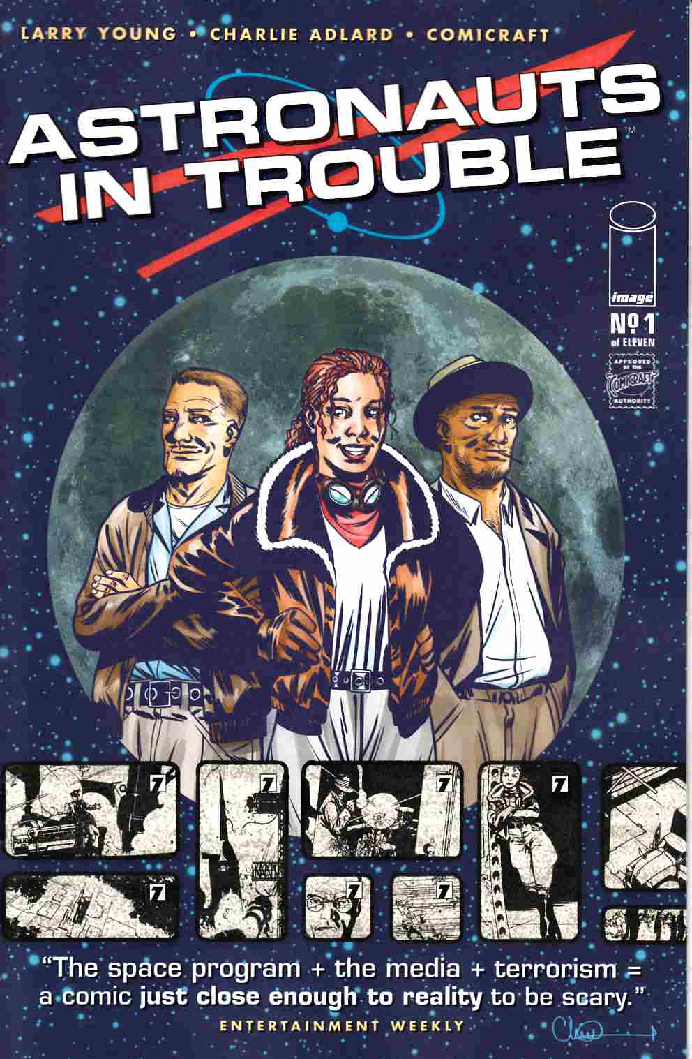 Astronauts in Trouble #1 [Image Comic] LARGE