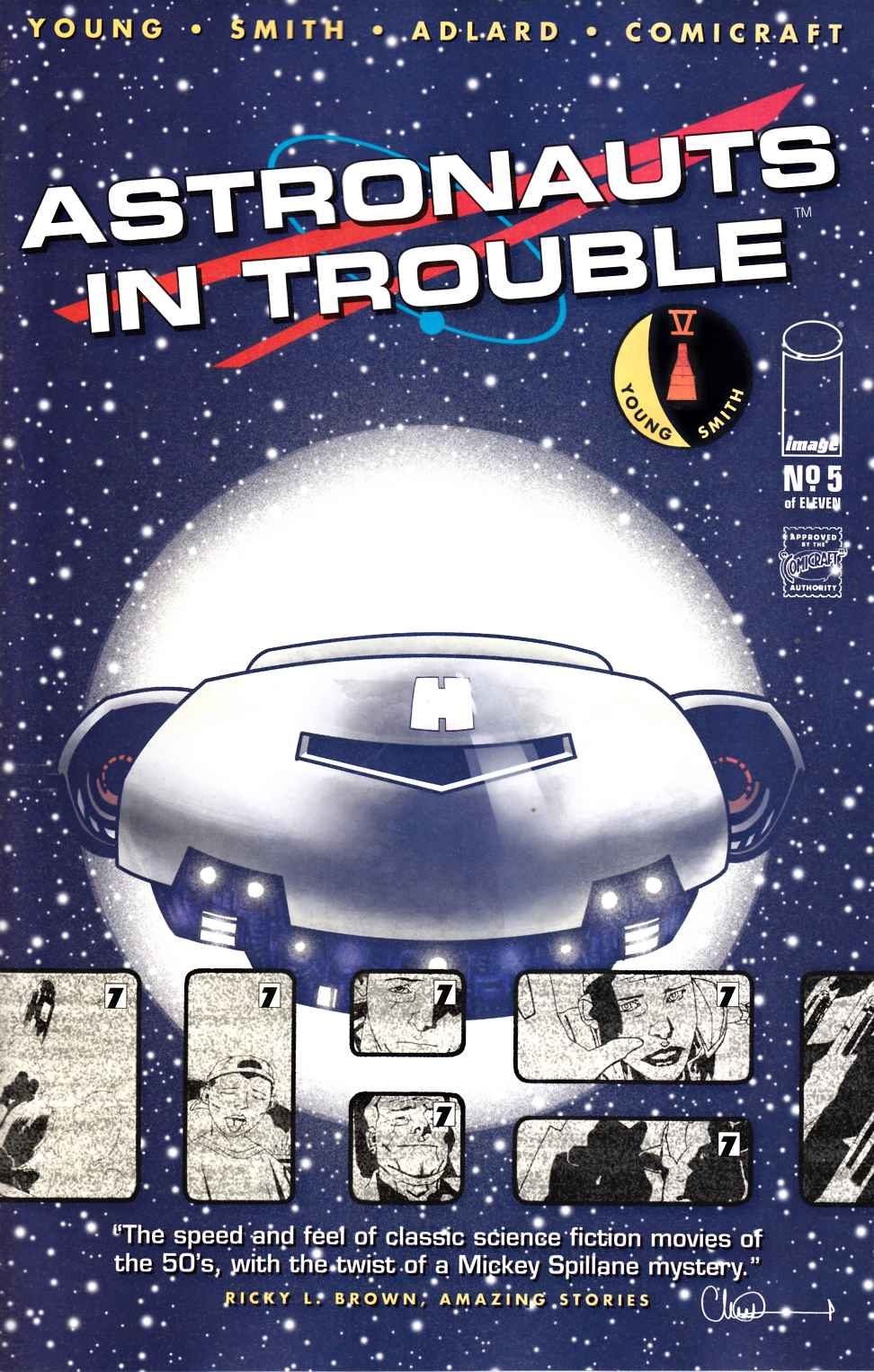 Astronauts in Trouble #5 [Image Comic] THUMBNAIL