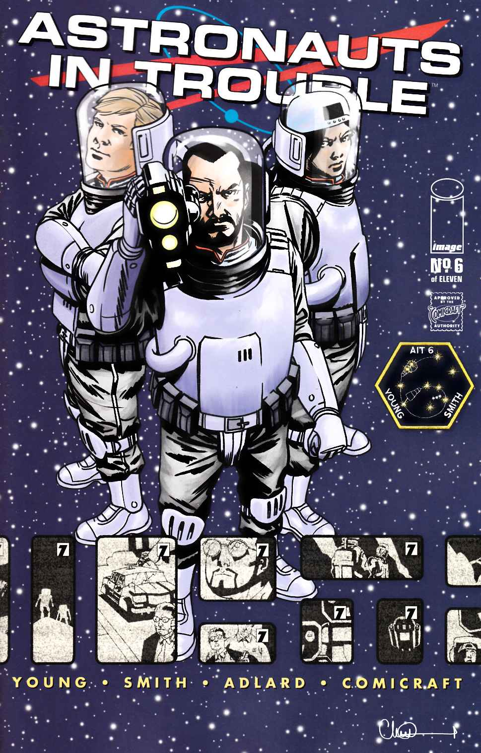 Astronauts in Trouble #6 [Image Comic] THUMBNAIL