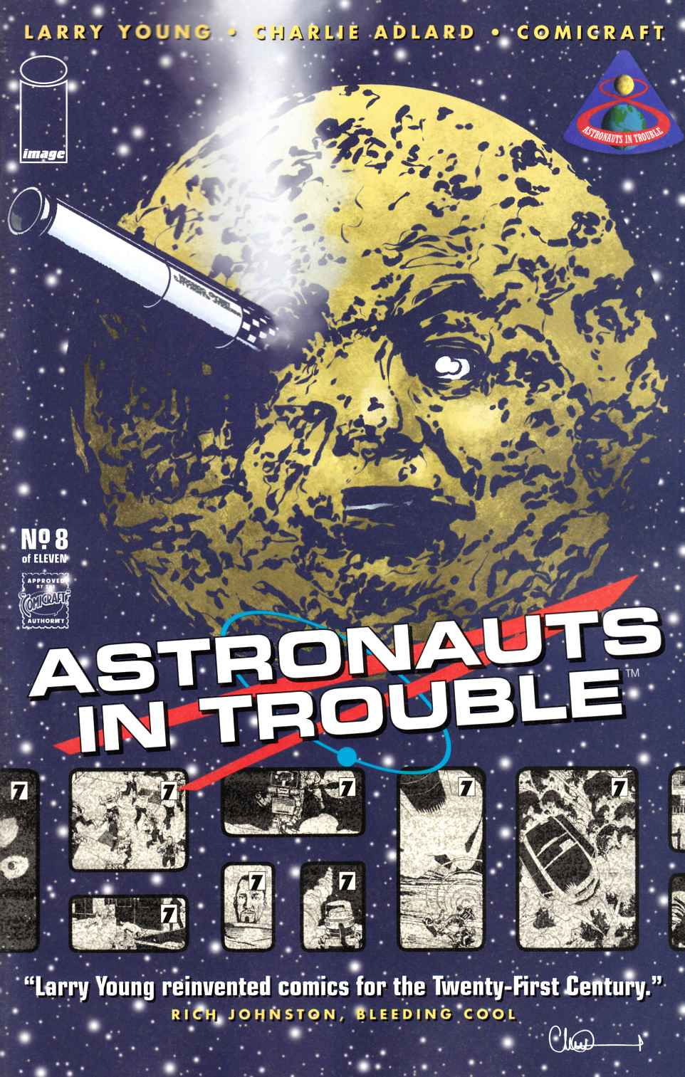 Astronauts in Trouble #8 [Image Comic]