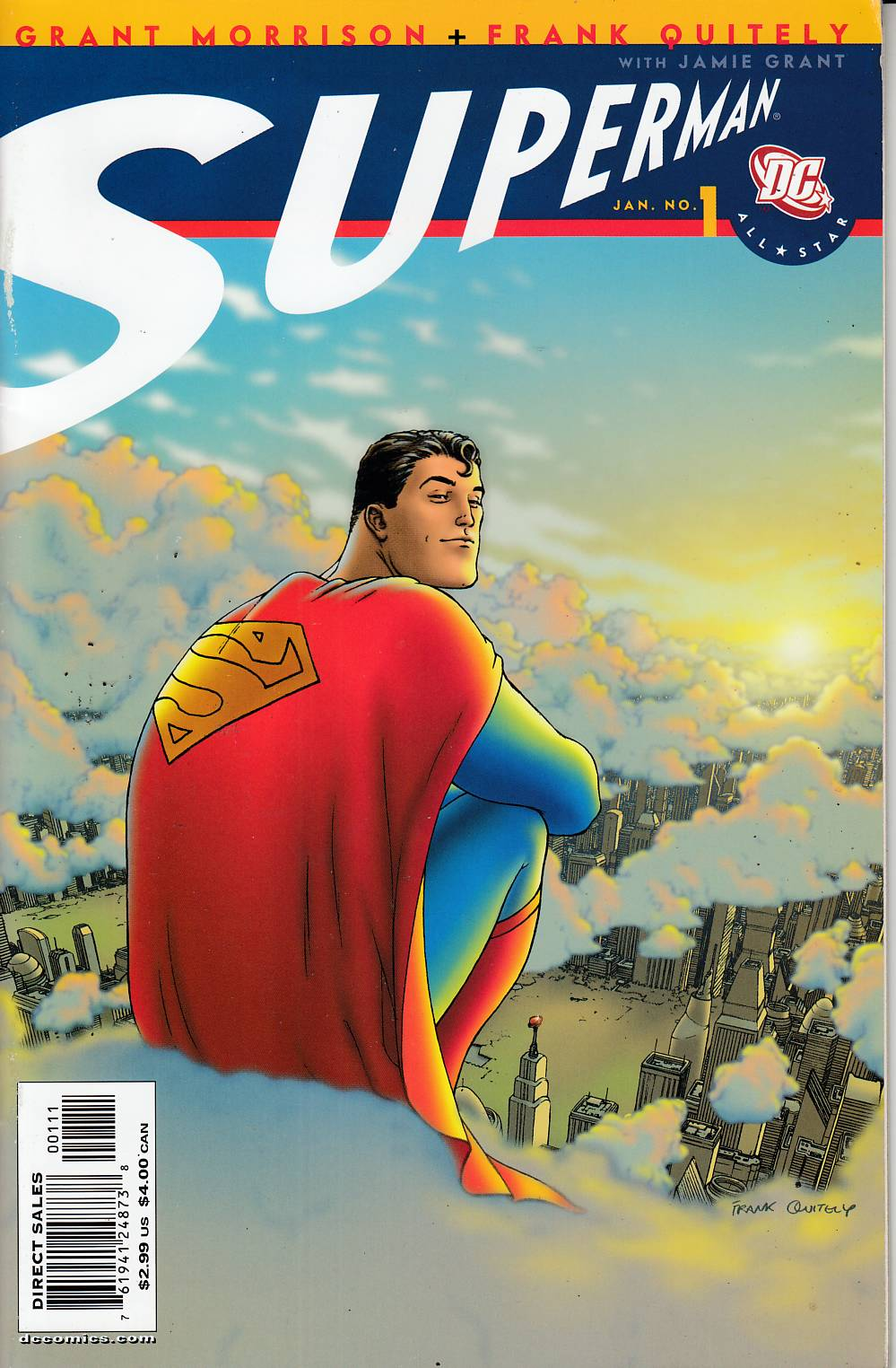All Star Superman #1 Very Good/Fine (5.0) [DC Comic] THUMBNAIL
