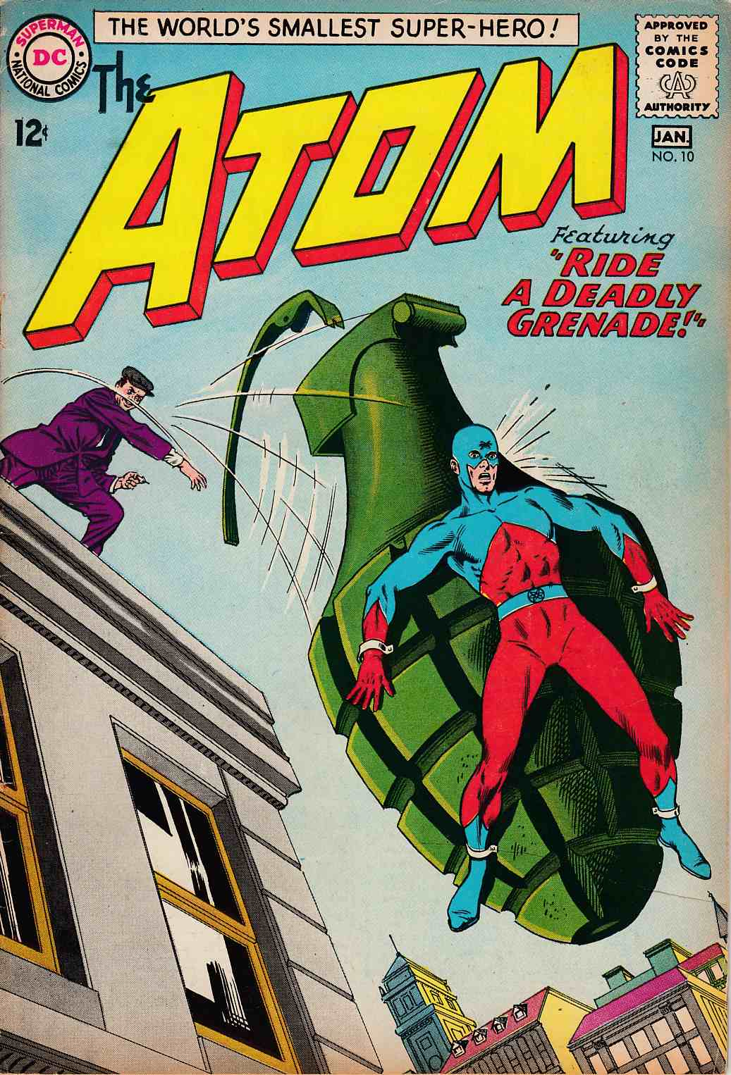 Atom #10 Good/Very Good (3.0) [DC Comic]
