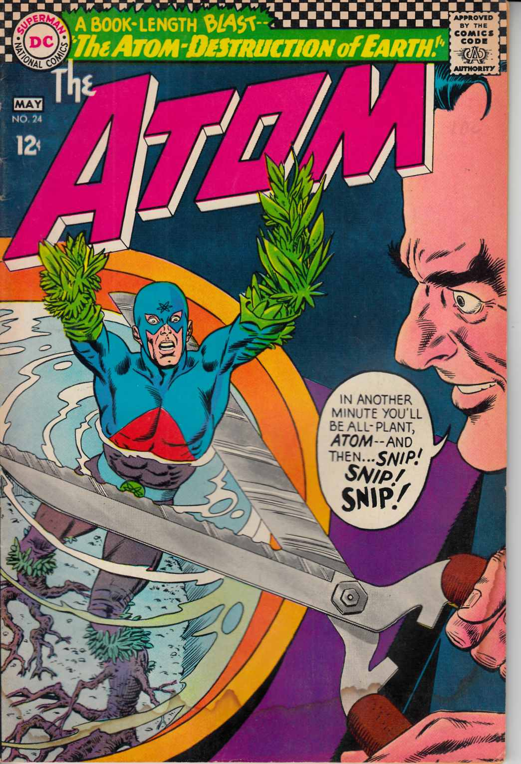 Atom #24 Good (2.0) [DC Comic] LARGE