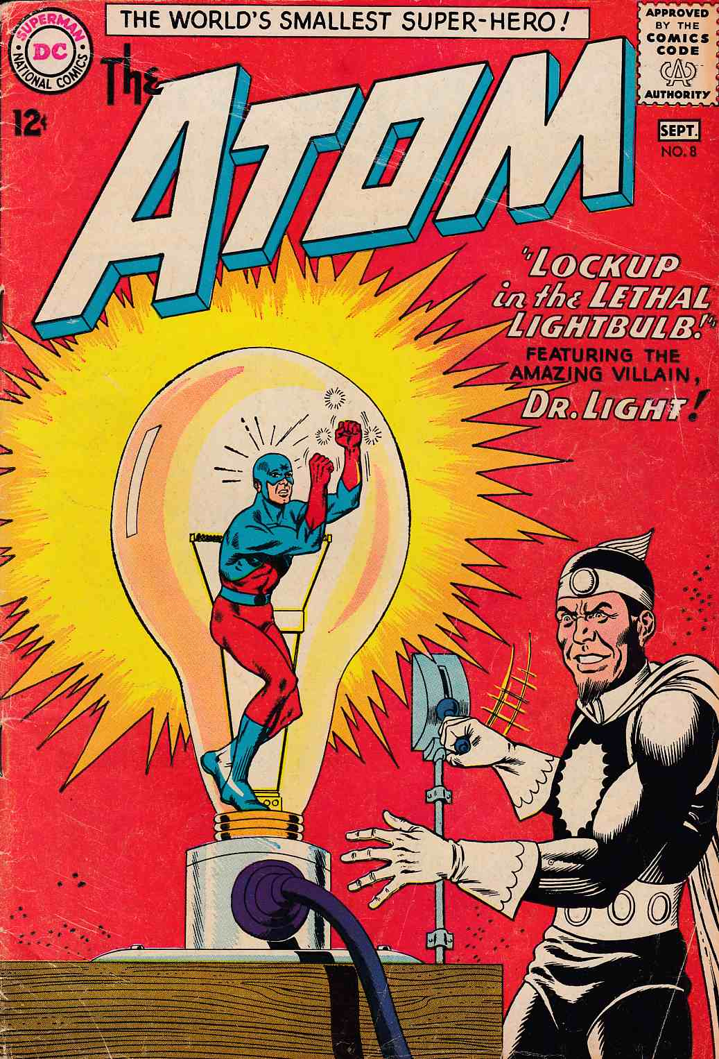 Atom #8 Very Good (4.0) [DC Comic]