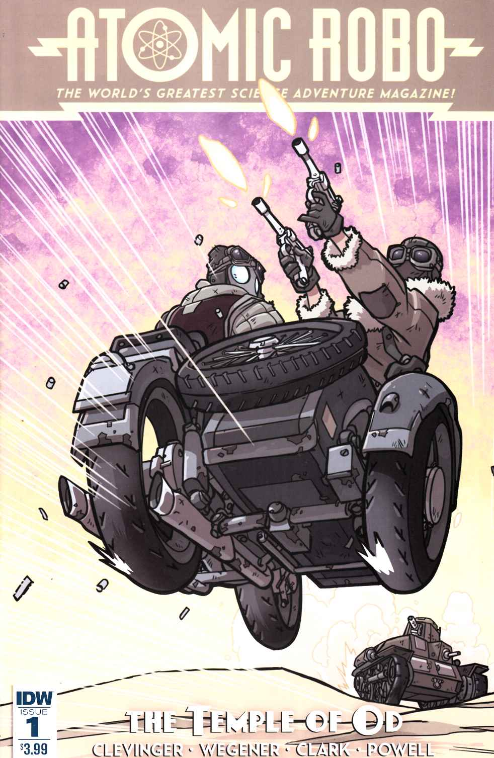 Atomic Robo and the Temple of Od #1 [IDW Comic] THUMBNAIL