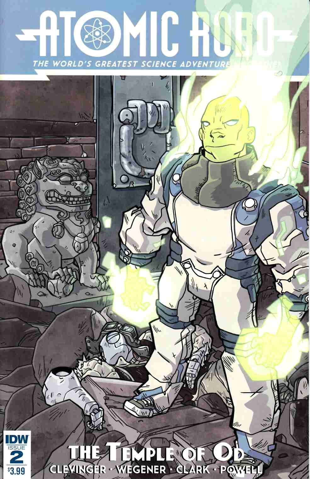 Atomic Robo and the Temple of Od #2 [IDW Comic] THUMBNAIL
