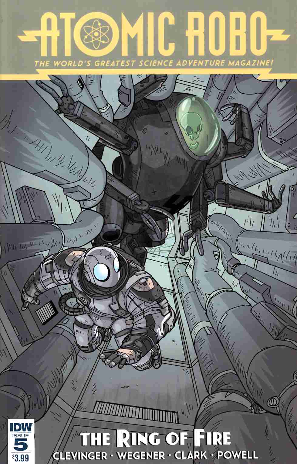 Atomic Robo & the Ring of Fire #5 [IDW Comic] THUMBNAIL