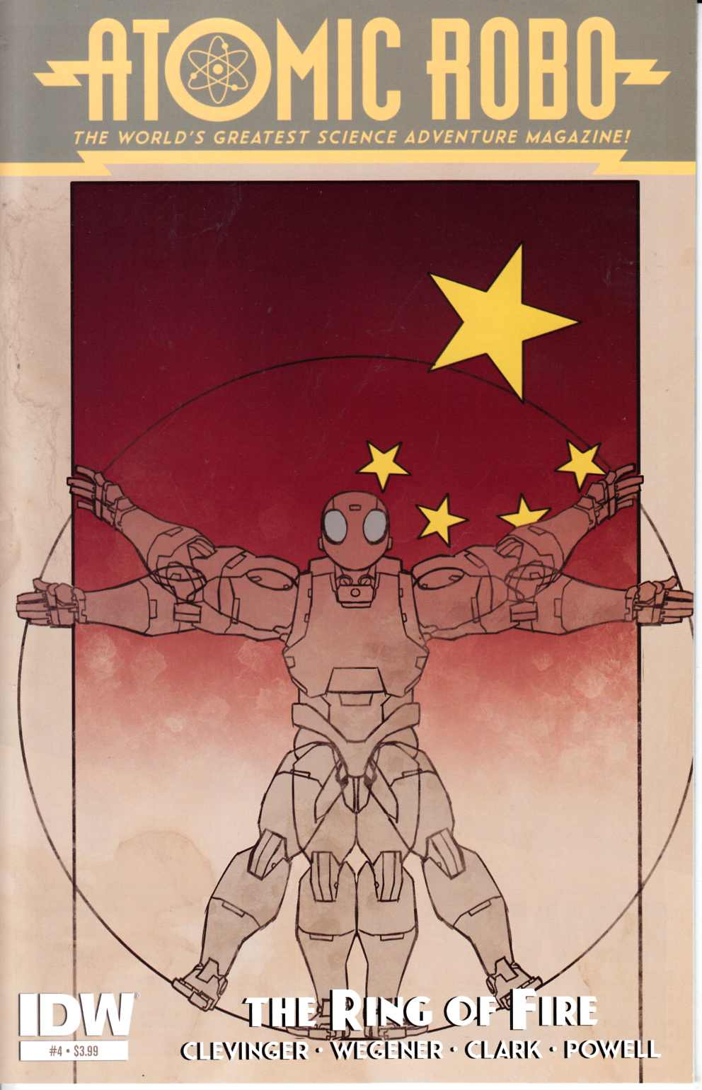Atomic Robo & the Ring of Fire #4 [IDW Comic] THUMBNAIL